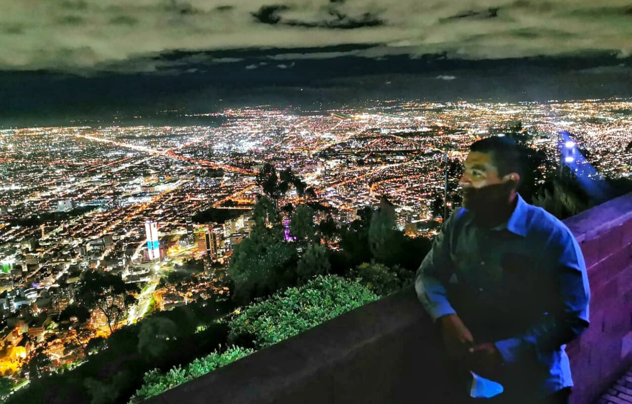 City tour at night with monserrate & Andres DC bogotapass img 02